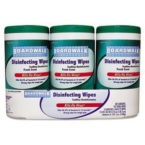 Boardwalk Disinfectant Wipes (Case of 4) BWK354W3PK