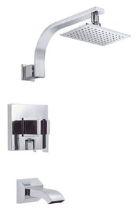 Danze Sirius® 2 gpm Tub and Shower Trim Kit with Single Lever Handle DD512044T
