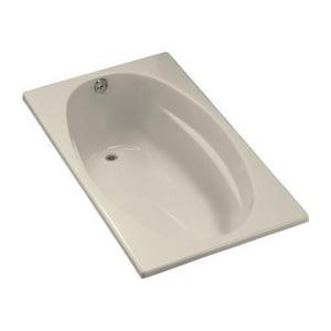 Kohler Proflex® 60 x 36 in. Exocrylic Drop-In Oval Bathtub with End Drain KBF1142