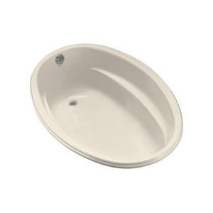 Kohler Proflex® 60 x 40 in. Exocrylic Drop-In Oval Bathtub with End Drain KBF1147