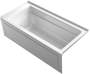 Kohler Archer® 66 x 32 in. 3-Wall Alcove Bathtub with Integral Flange and Right Hand Drain K1948-RA