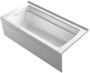 Kohler Archer® 66 x 32 in. 3-Wall Alcove Bathtub with Integral Flange and Left Hand Drain K1948-LA