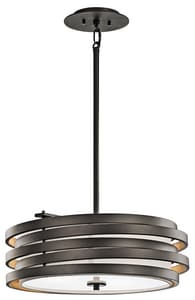 Kichler Lighting Roswell™ 100W 3-Light Pendant KK43301