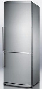 Felix Storch 28 W Energy Star Frost Free Freezer Refrigerator in Stainless Steel SFFBF285SS