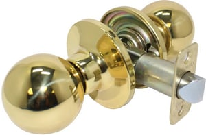 Pamex Southgate Keyed Entry Door Knob in Satin Chrome PPT3S00