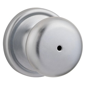 Kwikset Hancock® Privacy Door Knob in Brushed Chrome K730H26D6ALRCS