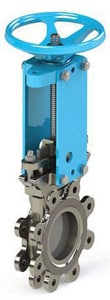 FNW 14-1/4 in. 150 psi 304L Stainless Steel Unidirectional Metal Seated Knife Gate Valve FNW6701S