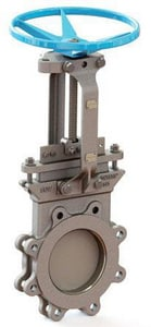 FNW 14-1/4 in. 150 psi 304L Stainless Steel Buna Lug Knife Gate Valve FNW6800B
