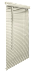 Lotus & Windoware 39 in. PVC Mini Blind in Alabaster LML39AL
