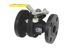 Apollo Conbraco 88A-900 Series Flanged Carbon Steel Standard Port Ball Valve A88A9401