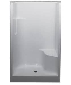Bathcraft 48 in. Hartford Shower with Right-Hand Seat B0930RS00