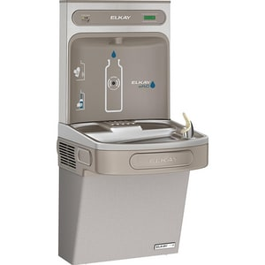 Elkay EzH2O® Bottle Filling Station with Single Green Cooler ELZSG8WSLK