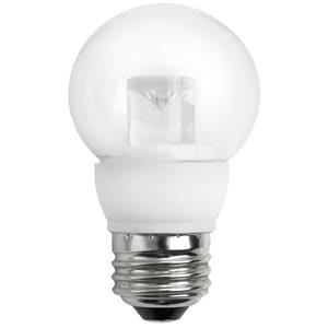 TCP 5W G16 Dimmable LED Light Bulb with Medium Base TLED5E26G1627K