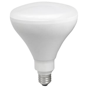 TCP 17W BR40 LED Light Bulb with Medium Base TLED17BR4027K