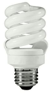 TCP 14W Compact Fluorescent Light Bulb with Medium Base T58014