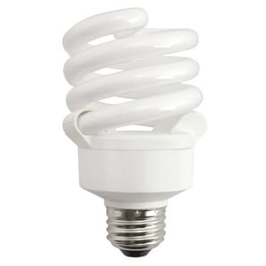 TCP Spiral Compact Fluorescent Bulb Medium E-26 Base 2700K T58018