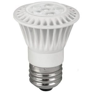 TCP PAR16 LED Bulb Medium E-26 Base 3000K 20 Degree Dimmable TLED7P1630KNFL