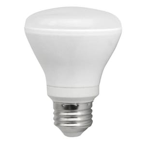 TCP R20 Base Dimmable Smooth LED Bulb TLED8R20D27K
