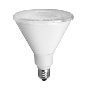 TCP 14W PAR38 Dimmable LED Light Bulb with Medium Base TLED14P38D30KNFL
