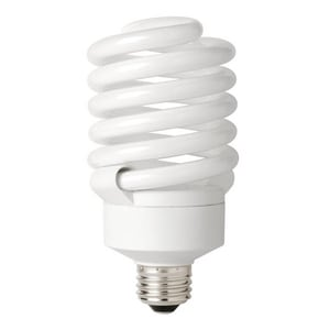 TCP T3 Compact Fluorescent Light Bulb with Medium Base T48942