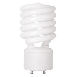 TCP Spiral Compact Fluorescent Bulb GU24 Base 2700K T33142SP