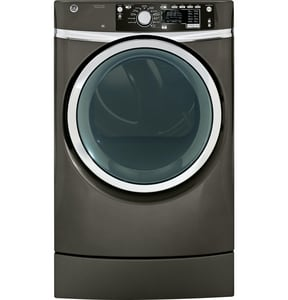 General Electric Appliances RightHeight™ 8.3 cf 6-Cycle Front Load Steam Electric Dryer GGFDR485EF