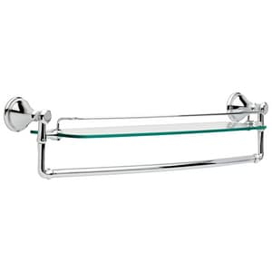 Delta Faucet Cassidy™ Glass Shelf with Bar D79711