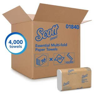 Kimberly Clark Scott® 250-Count 9-2/5 in. Multifold Towel (Case of 16) K01840
