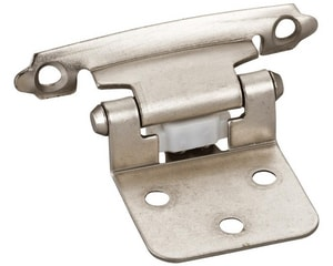 Hardware Resources Single Pair Flush Hinge with Screw and Pad HP5011