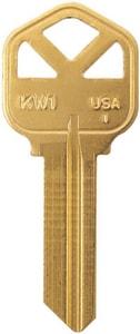 Kwikset Brass Key (50 per Box) IKW1BR