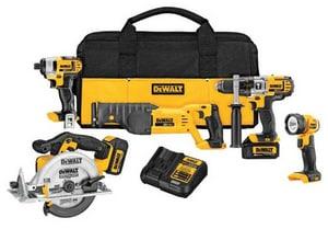 Dewalt Premium 5-Tool Kit Combo DDCK592L2