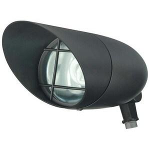 Nuvo Lighting Outdoor Flood Light with Built-In Photocell in Dark Bronze N76747