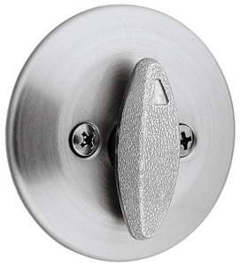 Kwikset 2-1/2 in. One Sided Deadbolt K66326DRCLRCS