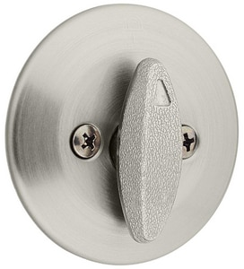 Kwikset 2-1/2 in. One Sided Deadbolt K66315RCLRCS