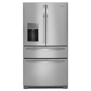 Whirlpool 28 cf French Door Bottom Mount Refrigerator with Ice Maker WWRX988SIB