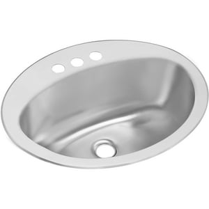 Elkay Asana® 1-Bowl Topmount Bathroom Sink ELLVR2117CS3