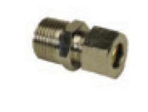 PROFLO® 3/8 in. OD Compression x MIP Brass Union PFXMCUCPCC