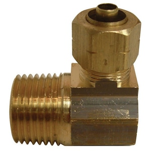 PROFLO® OD Compression x MIP Brass Elbow PFXMCECC