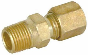 PROFLO® 1/4 in. OD Compression x MIP Brass Union PFXMCUBB