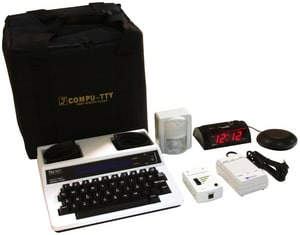 Compu-TTY Economy Guest Room Kit - Battery CECMYKIT