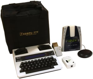 Compu-TTY Deluxe Guest Room Kit with KA1000 CDLXKIT2