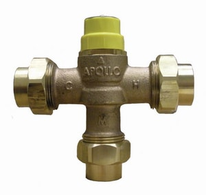 Apollo Conbraco FNPT x FNPT Dual Purpose Mix Valve A34BLF214T
