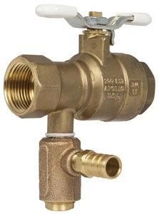 Apollo Conbraco Bronze Inlet/Outlet PEX Sweat Thermostatic Valve A78LF305RV