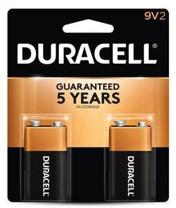 Duracell 9V Alkaline Battery DMN1604B2Z