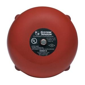 System Sensor AC Electric Alarm Bell SSSV1206