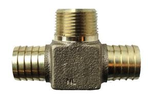 American Granby 3/4 in. Insert Bronze Hydrant Tee IBRLFIMTF