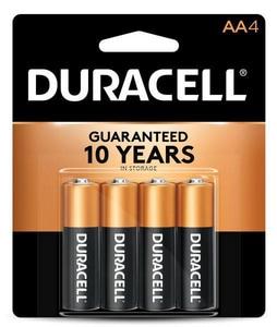 Duracell Size AA Batteries DMN1500B4PK