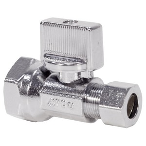 Nibco 7150-LF Series Ribbed Handle Straight Supply Stop Valve N7150LF