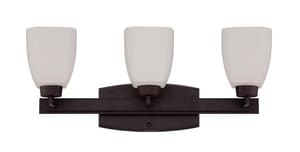 Craftmade International Bridwell 60 W 3-Light Medium Large Bracket in Oiled Bronze C14721OB3