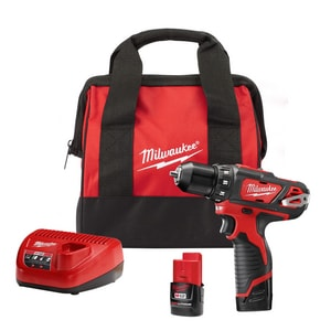 Milwaukee M12™ 12V Drill Driver Kit M240722